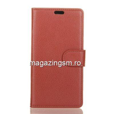 Husa Flip Cu Stand Asus ZenFone Live (L1) ZA550KL / Lite (L1) ZA551K Maro