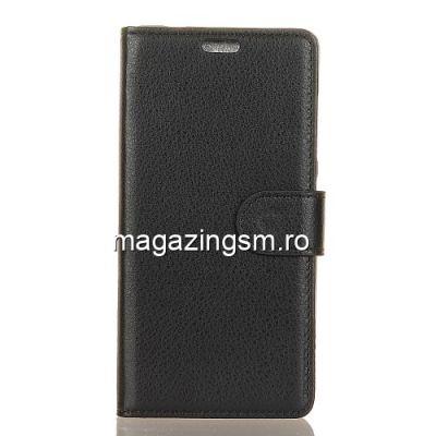 Husa Flip Cu Stand HTC U12 Life Neagra