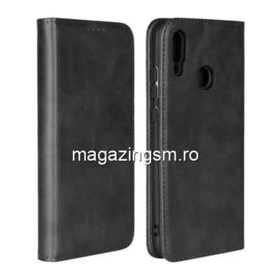 Husa Flip Cu Stand Huawei Honor 10 Lite / P Smart 2019 Neagra