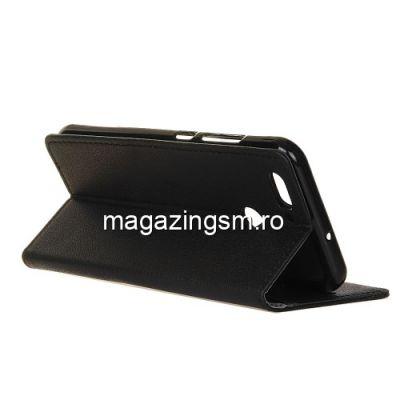 Husa Flip Cu Stand Huawei Nova 2 Neagra