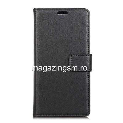 Husa Flip Cu Stand Huawei Y6 (2018) Neagra
