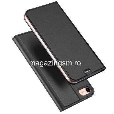 Husa Flip Cu Stand iPhone 8 / 7 Neagra