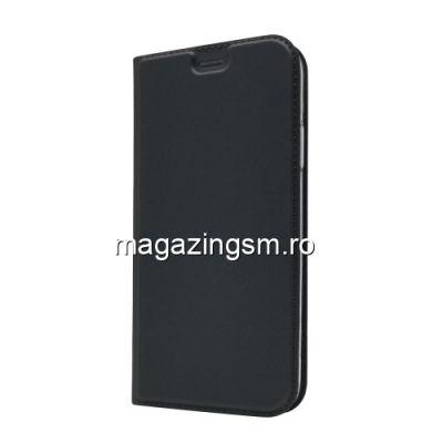 Husa Flip Cu Stand iPhone XS Max Neagra