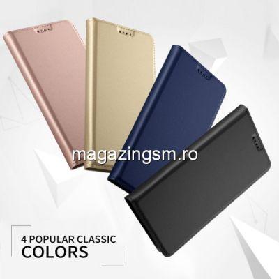 Husa Flip Cu Stand iPhone XS Neagra