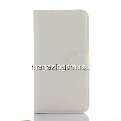 Husa Flip Cu Stand Samsung Galaxy J5 J500 2015 Alba