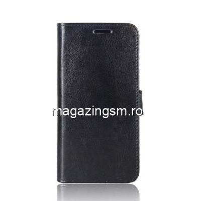 Husa Flip Cu Stand Sony Xperia XZ2 Compact Neagra