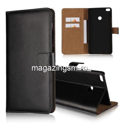 Husa Flip Cu Stand Xiaomi Mi Max 2 Neagra