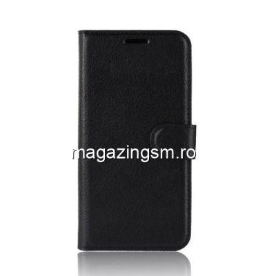 Husa HTC Desire 12s Flip Cu Stand Neagra