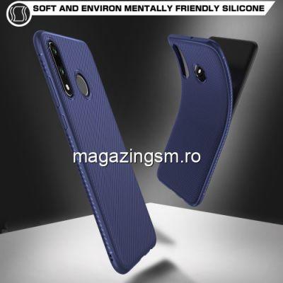 Husa Huawei P30 Lite TPU Albastra