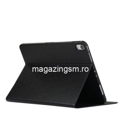 Husa iPad Pro 11 inch 2018 Flip Cu Stand Neagra