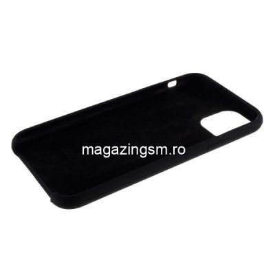 Husa iPhone 11 Pro Max Silicon Neagra