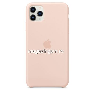 Husa iPhone 11 Pro Max Silicon Pink Sand