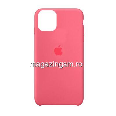 Husa iPhone 11 Pro Max Silicon Roz Capucin