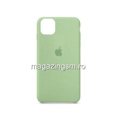 Husa iPhone 11 Pro Max Silicon Verde Deschis
