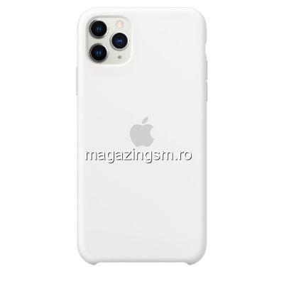 Husa iPhone 11 Pro Max Silicon White