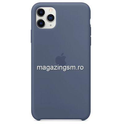 Husa iPhone 11 Pro Silicon Alaskan Blue