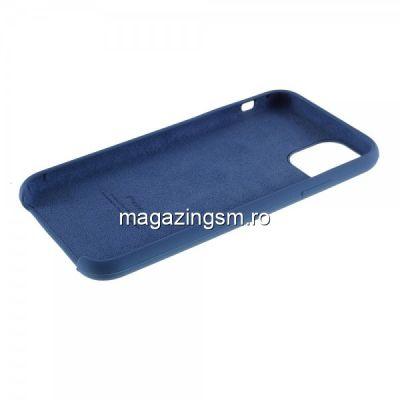 Husa iPhone 11 Pro Silicon Albastra