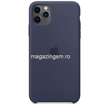 Husa iPhone 11 Pro Silicon Midnight Blue