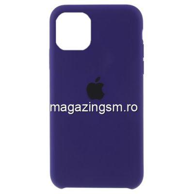 Husa iPhone 11 Pro Silicon Mov Inchis