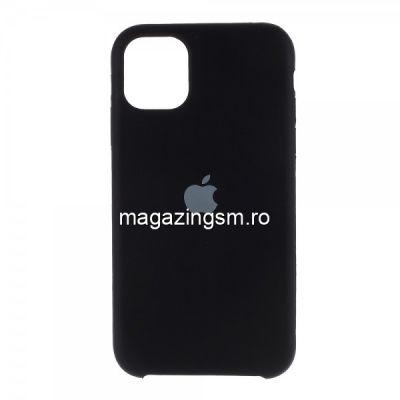 Husa iPhone 11 Pro Silicon Neagra