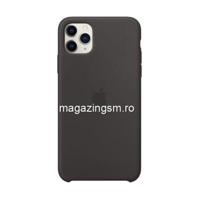 Husa iPhone 11 Pro Silicon Black