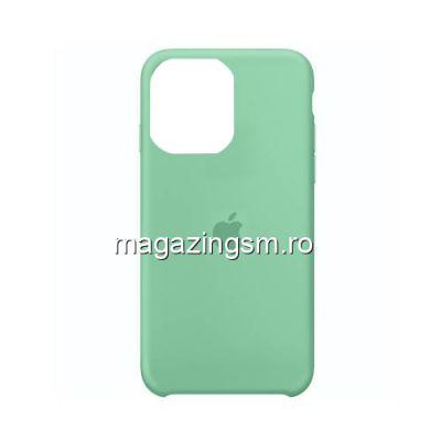 Husa iPhone 11 Pro Silicon Turcoaz