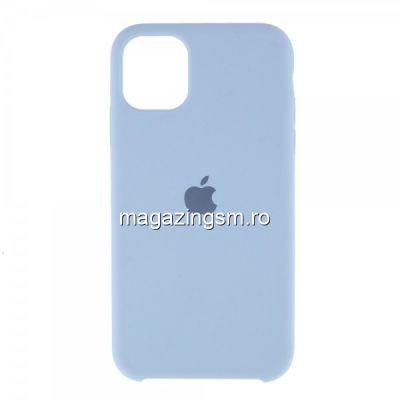 Husa iPhone 11 Silicon Albastru Deschis