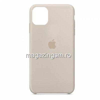 Husa iPhone 11 Silicon Bej