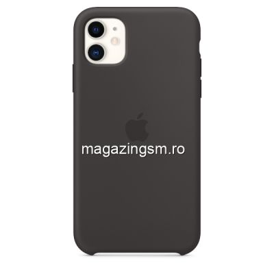 Husa iPhone 11 Silicon Black