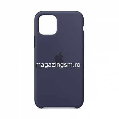 Husa iPhone 11 Silicon Midnight Blue