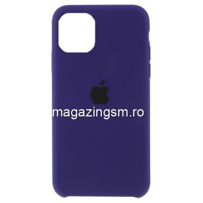 Husa iPhone 11 Silicon Mov Inchis