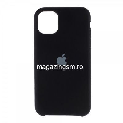 Husa iPhone 11 Silicon Neagra