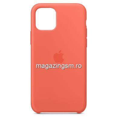 Husa iPhone 11 Silicon Orange