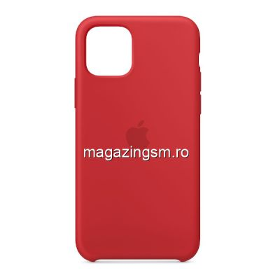 Husa iPhone 11 Silicon Red
