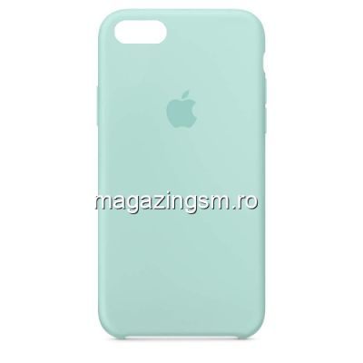 Husa iPhone 6 / 6s Silicon Turcoaz