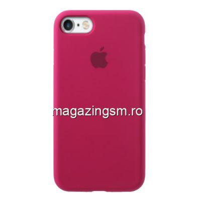 Husa iPhone 6s Silicon Roz Inchis