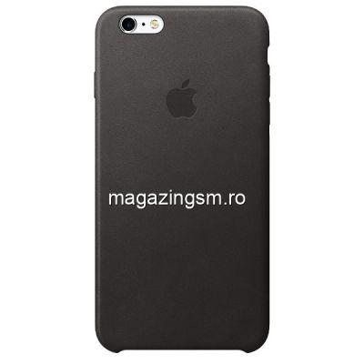Husa iPhone 6 Plus Silicon Neagra