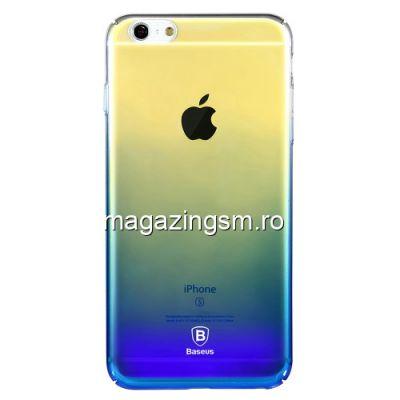 Husa iPhone 6 Plus Dura Albastra