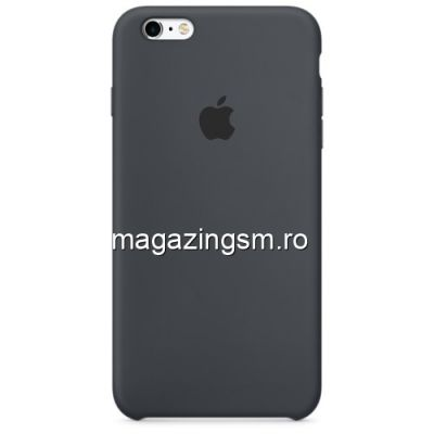 Husa iPhone 6s Plus / 6 Plus Silicon Neagra