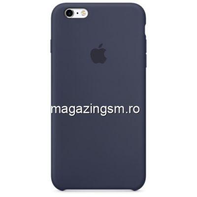 Husa iPhone 6 Plus Silicon Albastru Inchis