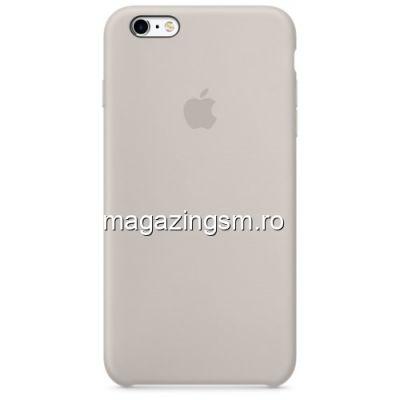 Husa iPhone 6s Plus / 6 Plus Silicon Bej