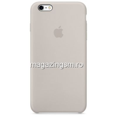 Husa iPhone 6 Plus Silicon Bej