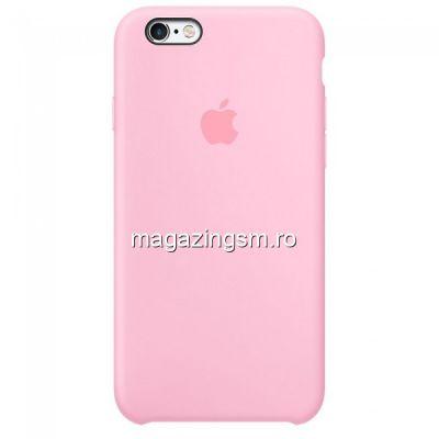 Husa iPhone 6s Silicon Roz