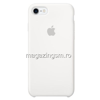 Husa iPhone 7 Silicon Alba