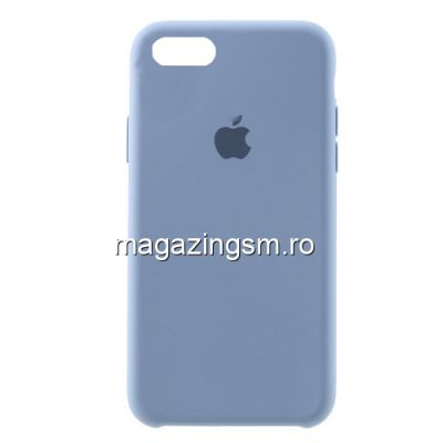 Husa iPhone 7 Silicon Bleumarin