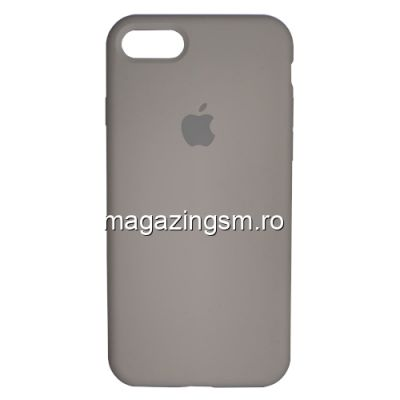 Husa iPhone 7 Silicon Bej