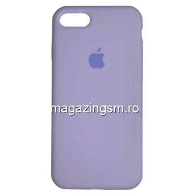 Husa iPhone 8 Silicon Mov Deschis