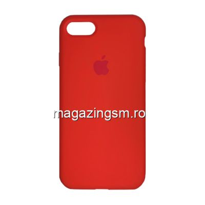 Husa iPhone 7 / 8 Silicon Rosu Corai
