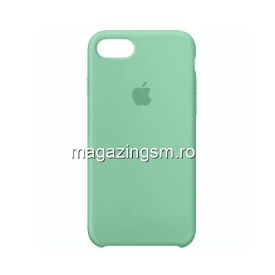 Husa iPhone 8 Silicon Turcoaz