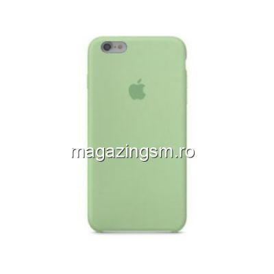 Husa iPhone 7 Silicon Verde Deschis